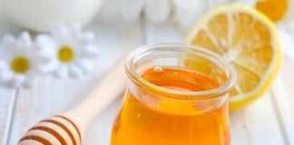 สูตรพอกหน้าด้วยน้ำผึ้ง + น้ำมะนาว